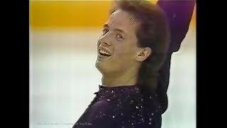 Kurt Browning 1990 Worlds (Halifax) Free Skating