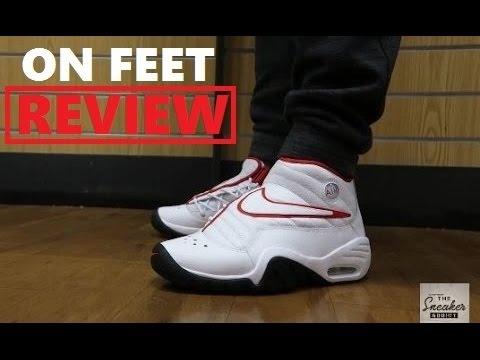 reputable site b2924 fab2a Nike Air Shake Ndestrukt  Dennis Rodman  Retro Sneaker On Feet Review