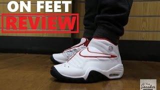 Nike Air Shake Ndestrukt 'Dennis Rodman' Retro Sneaker On Feet Review