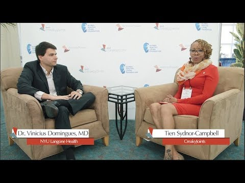 CreakyJoints Livestream Dr. Vinicius Domingues discusses current RA treatments