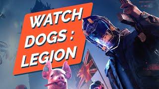 Le DÉBUT de WATCH DOGS LEGION : découvrez les 15 minutes du jeu ! GAMEPLAY PS4 FR