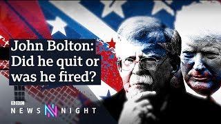 Trump sacks national security adviser John Bolton - BBC Newsnight