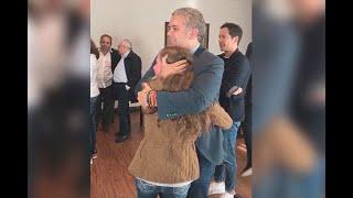 Celebración De  Van Duque Al Enterarse De Que Fue Elegido Presidente De Colombia  Noticias Caracol