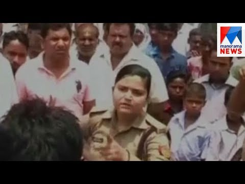 UP Woman Police Officer Stands up To Bullying by BJP Workers | Manorama News