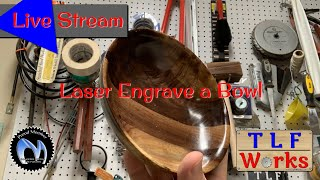 Engraving a Bowl with the NJEJ Master 7W Laser