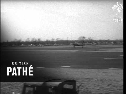 Record Flight Across USA (1955)
