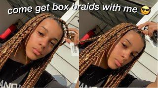 Come Get Box Braids With Me!   Azlia Williams