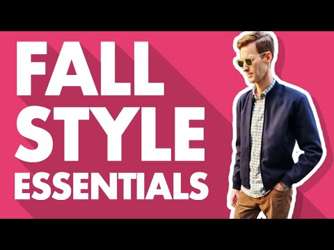 Men's Fall Style Essentials For 2019