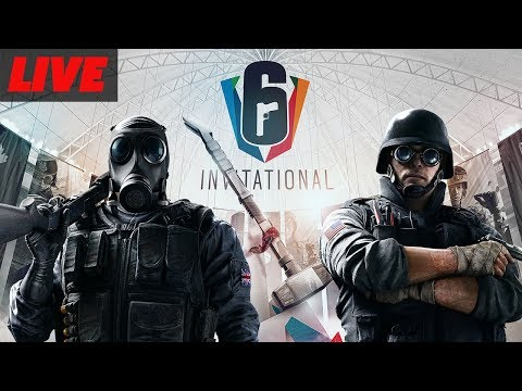 Rainbow Six Siege Invitational 2018 Championship Sunday (All Star Match, Outbreak, and Grand Finals)