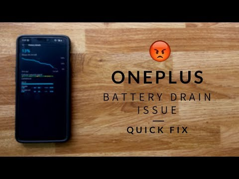 OnePlus Battery Drain after update - Quick Fix