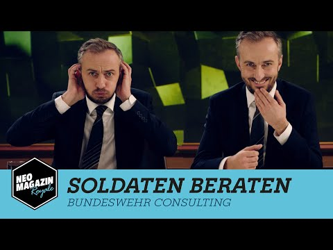 Soldaten beraten | NEO MAGAZIN ROYALE mit Jan Böhmermann - ZDFneo