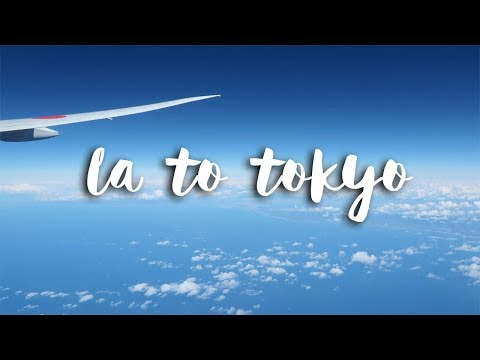 LA to Tokyo on Japan Airlines + Airline Food Review - Tokyo Vlog #1