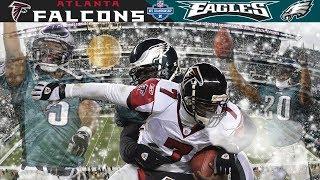 Eagles Defense Swarms Vick! (Falcons vs. Eagles, 2004 NFC Champ) | NFL Vault Highlights