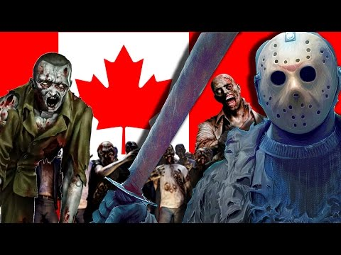 Jason vs Zombies - Death Road To Canada