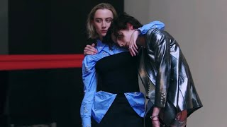 timothée chalamet and saoirse ronan being best friends for 8 minutes
