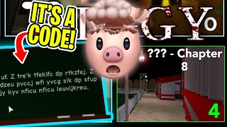 ROBLOX PIGGY CHAPTER 8 REVEALED + HIDDEN CODE..