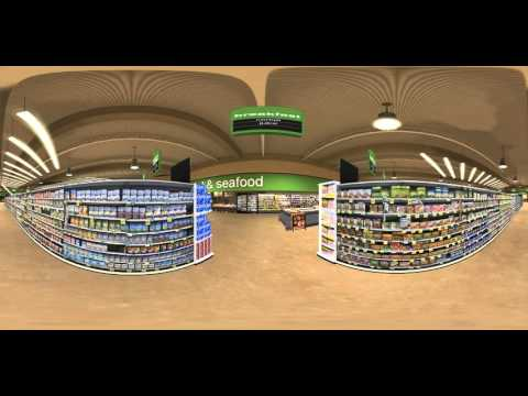 360° Virtual Reality Shopping Tour