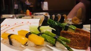 Veg Nigiri Sushi Deluxe/How To Make Sushi /寿司