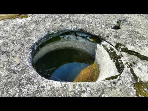 Ancient Native American Salt Basins, Sierra Nevada Mountains, California