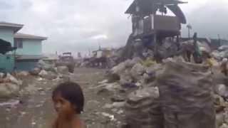 לונלי פלג: יומן מסע- שכונת עוני! Manila Slums