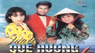 LK Que Huong 1[Karaoke] - Phi Nhung - Huong Lan - Hoai Nam