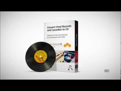 Golden Records Vinyl to CD or Mp3 Converter | Overview