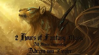 Repeat youtube video 2 Hours of Fantasy Music by Adrian von Ziegler