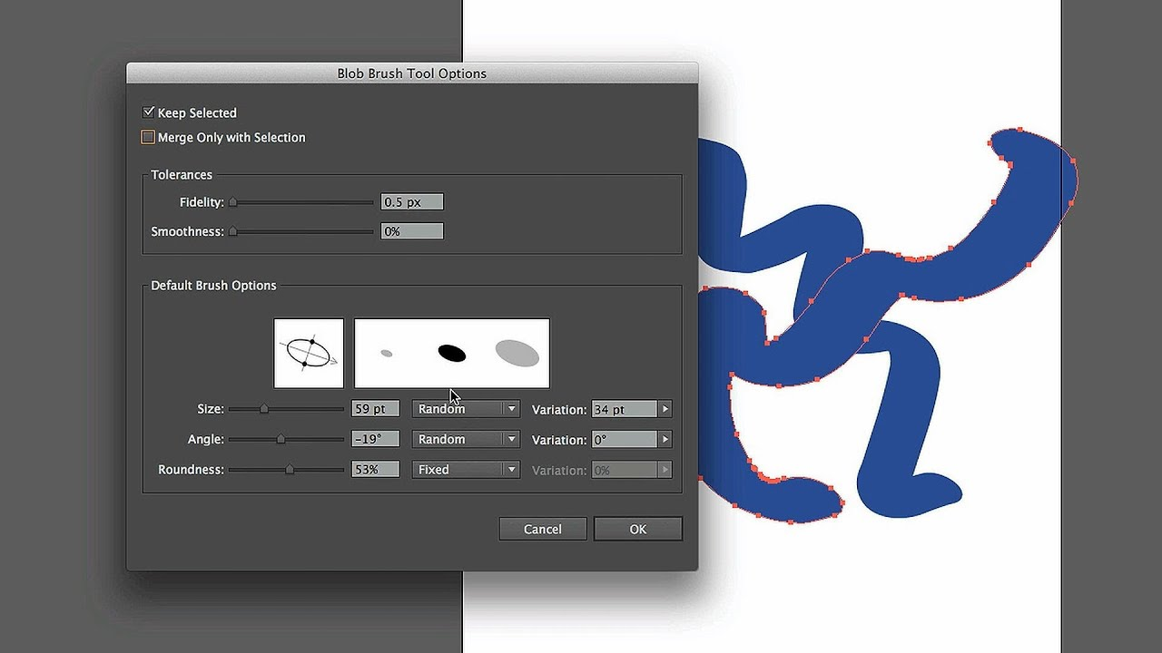 How to Work with the Blob Brush Tool | Adobe Illustrator - YouTube