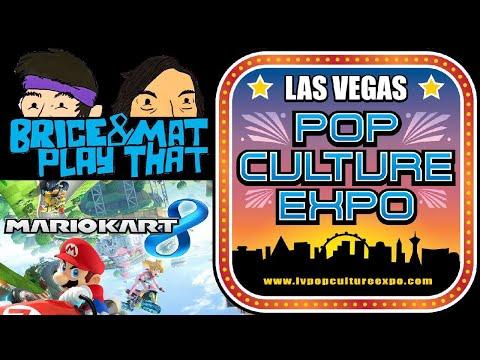 Mario Kart 8 - LIVE at the Las Vegas Pop Culture Expo