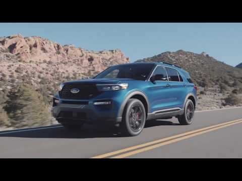 All-New Ford Explorer ST Driving Video