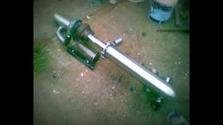 Afterburner Home Made Gas Turbine Jet Engine Do You Think Ill Need Insurance
