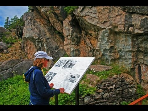 Hiking and history in Fleur de Lys, Newfoundland
