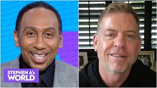 Troy Aikman on Bucs vs. Packers & Tom Brady's success this season | Stephen A's World