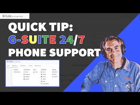 How To Call G-Suite Customer Service By Phone 24/7