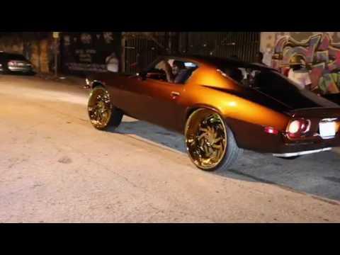 """1970 Gangsta"" Split bumper Camaro"
