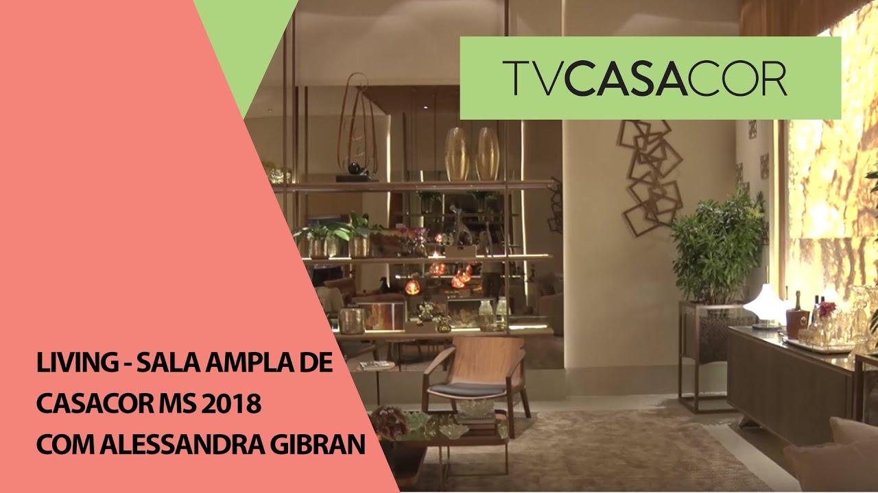 Download Living - sala ampla de CASACOR MS 2018, com Alessandra Gibran