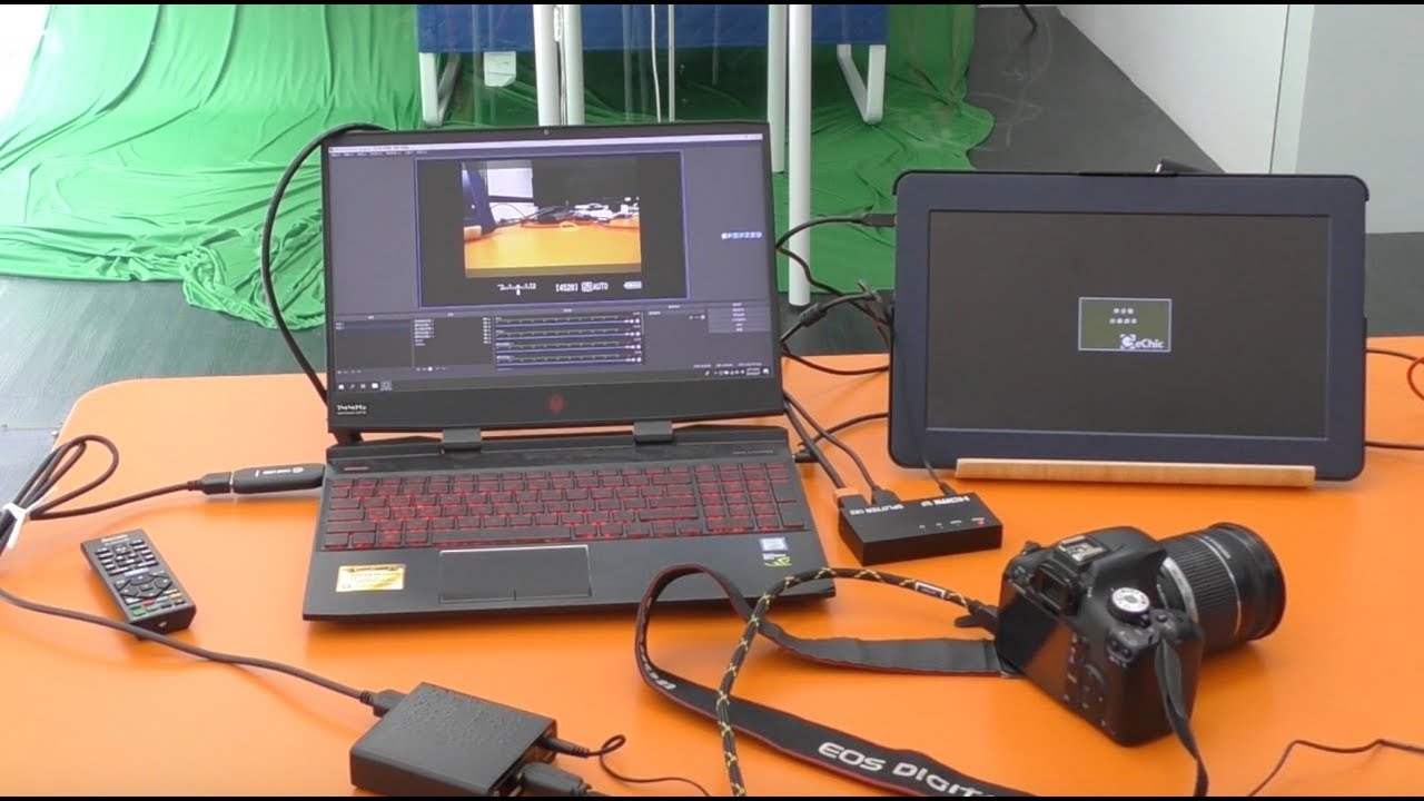 How to elgato Cam Link capture card support Canon DSLR & SONY blueray DVD