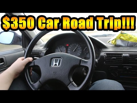 Is a $350 Honda Reliable? Road Trip To Find out!