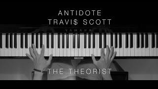 Travi$ Scott - Antidote (The Theorist Piano Cover)