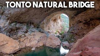 Tonto Natural Bridge State Park Hike