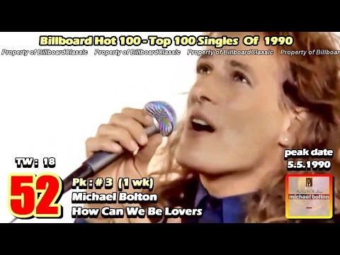 "1990 Billboard Hot 100 ""Year-End"" Top 100 Singles [1080p HD]"