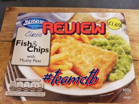 Classic Fish & Chips With Mushy Peas[REVIEW} By (Kershaw Foods)