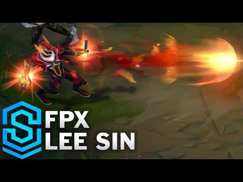 FPX Lee Sin Skin Spotlight - Pre-Release - League of Legends