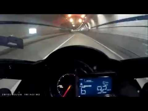 KAWASAKI H2 top speed 100 KPH -- 300 KPH in just 7 sec.!!!!! Incredible