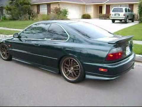 1996 Accord exhaust - YouTube