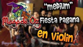 Mago de Oz - Fiesta pagana en Violín How to Play,Tutorial,Tab,sheet music,Como Tocar Manukesman