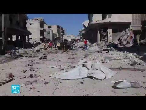 روسيا تنفي مشاركتها في غارات على معرة النعمان في سوريا  - نشر قبل 4 ساعة