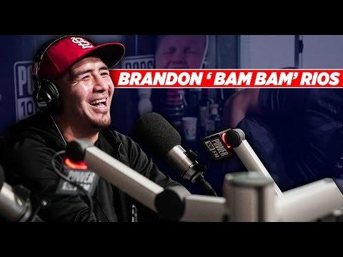 Brandon 'Bam Bam' Rios Says Victor Ortiz's Life Is A Lie!