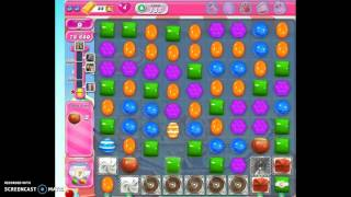 Candy Crush Level 185 Collecting Sugar Drops