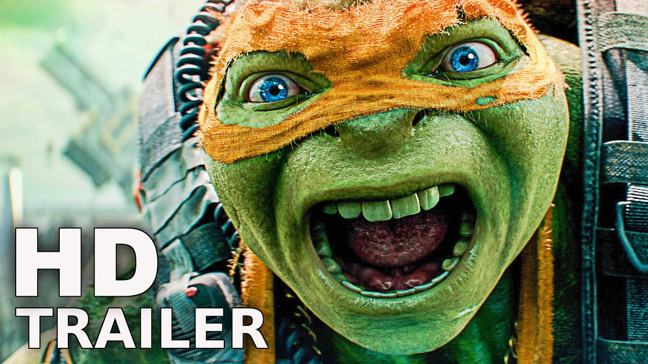 Ninja Turtles 2 Trailer Deutsch